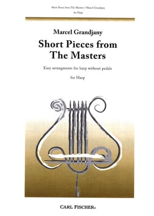 Short pieces from the Masters Marcel Grandjany Partition laflutedepan