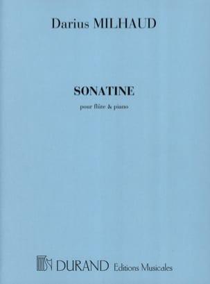 Sonatine - Flûte piano MILHAUD Partition laflutedepan