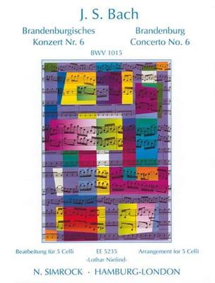 Brandenburgisches Konzert Nr. 6 BWV 1051 - 5 Celli BACH laflutedepan