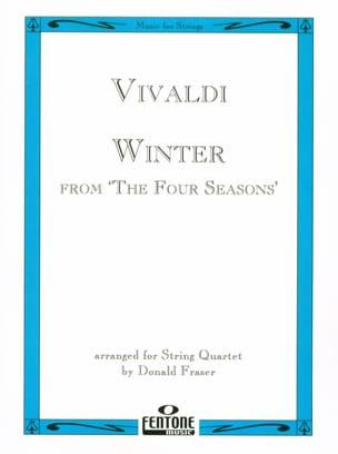 Winter from The four seasons - String Quartet VIVALDI laflutedepan