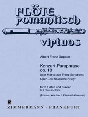 Konzert-Paraphrase op. 18 Albert Franz Doppler Partition laflutedepan