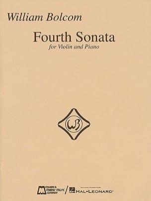 Fourth Sonata for Violin and Piano - William Bolcom - laflutedepan.com