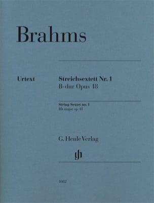 Sextuor à Cordes n° 1 - Parties séparées BRAHMS Partition laflutedepan