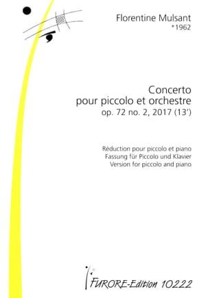 Concerto pour Piccolo, op. 72 n° 2 Florentine Mulsant laflutedepan