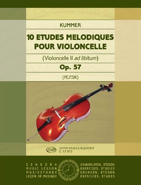 10 Etudes Mélodiques Op.57 - laflutedepan.com