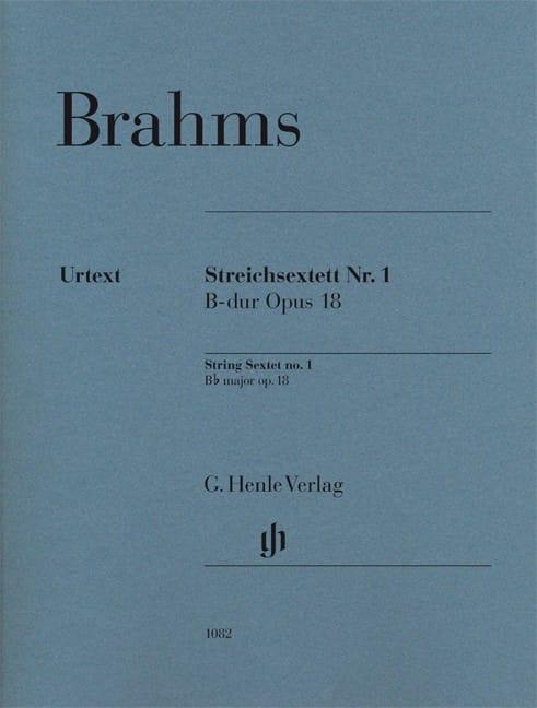 Sextuor à Cordes n° 1 - Parties séparées - BRAHMS - laflutedepan.com