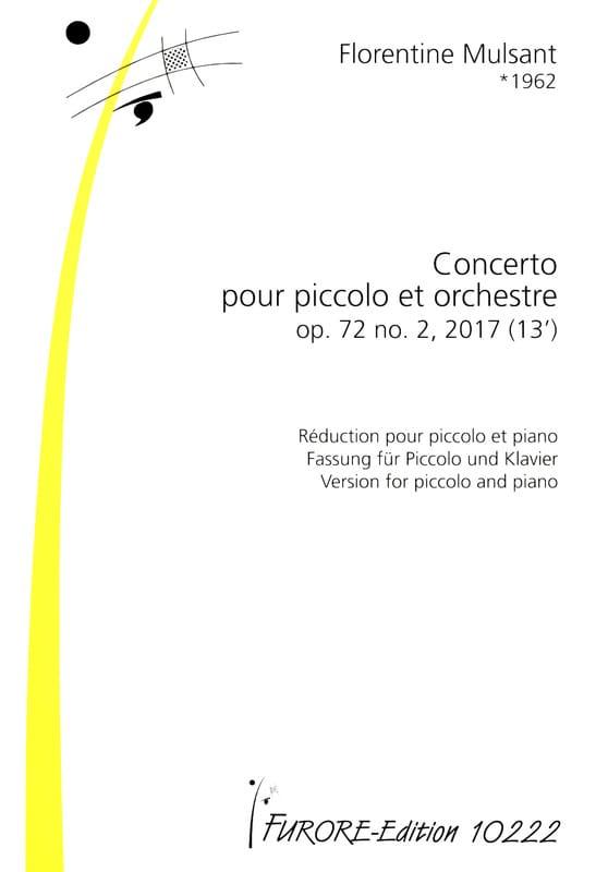 Concerto pour Piccolo, op. 72 n° 2 - laflutedepan.com