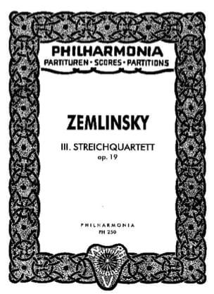 Streichquartett Nr. 3 op. 19 - Partitur laflutedepan
