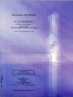 A la Kasbah ! Alexandre Georges Partition laflutedepan
