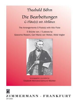 5 Stücke - Flöte Altflöte Klavier Theobald Boehm laflutedepan
