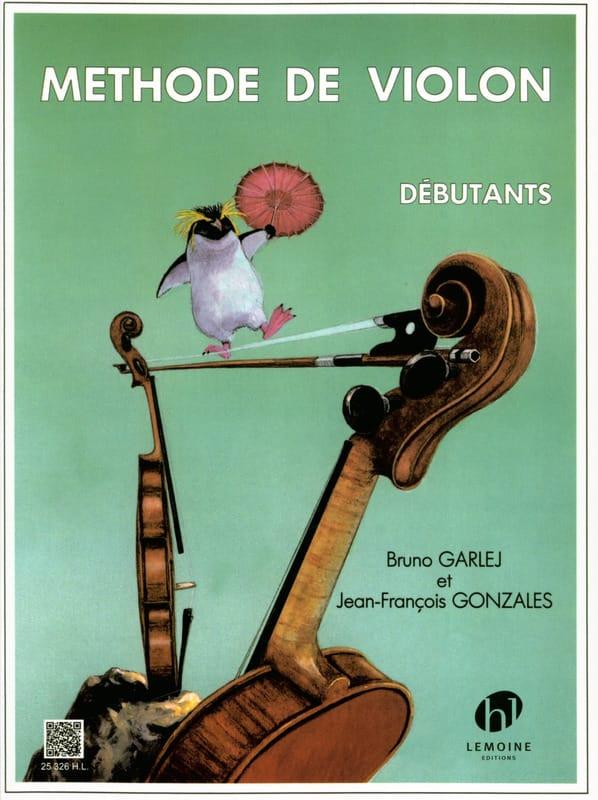 Méthode de Violon Débutants - GARLEJ - GONZALES - laflutedepan.com