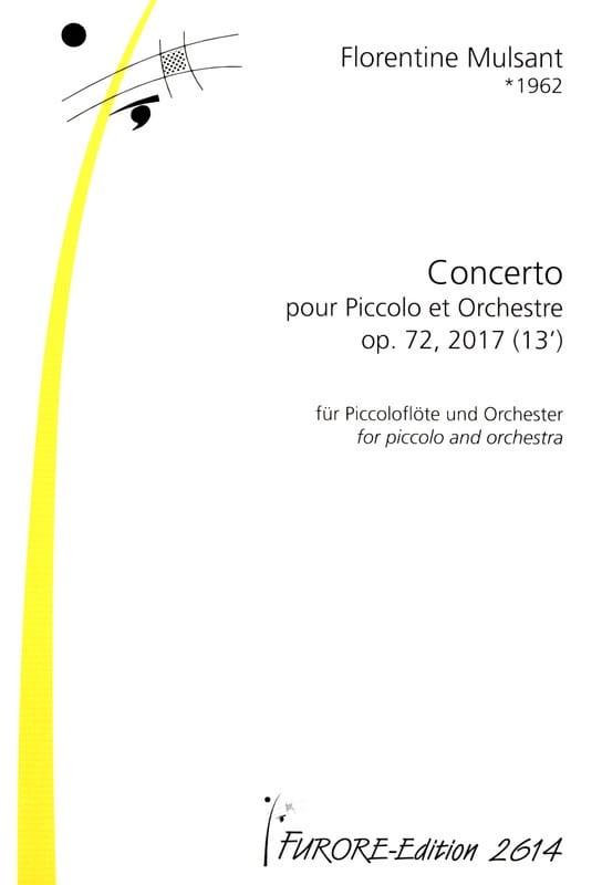 Concerto pour Piccolo, op. 72 n° 2 - Conducteur - laflutedepan.com