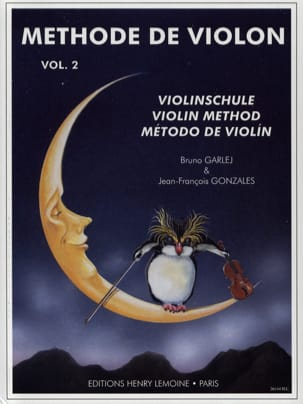 GARLEJ - GONZALES - Méthode de Violon - Volume 2 - Partition - di-arezzo.fr