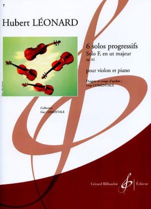Solo F en ut majeur op. 62 Hubert Léonard Partition laflutedepan