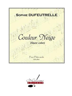 Couleur Neige Sophie Dufeutrelle Partition laflutedepan