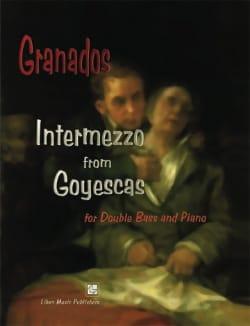 Intermezzo GRANADOS Partition Contrebasse - laflutedepan