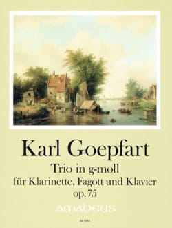 Trio, op. 75 - Clarinette, Basson et piano Karl Goepfart laflutedepan