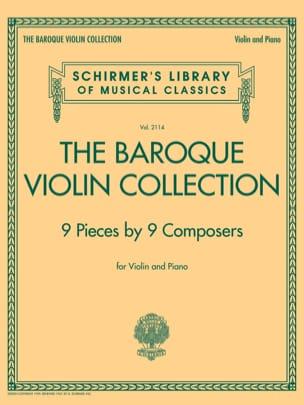 The Baroque Violin Collection Partition Violon - laflutedepan