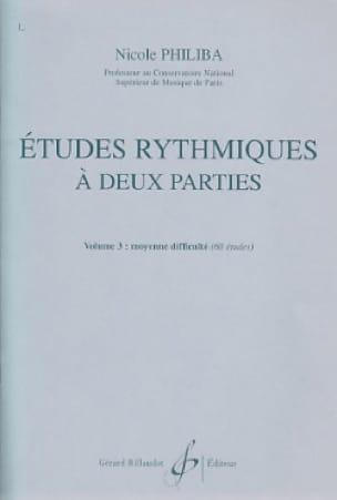 Etudes rythmiques à 2 parties vol.3 - laflutedepan.com