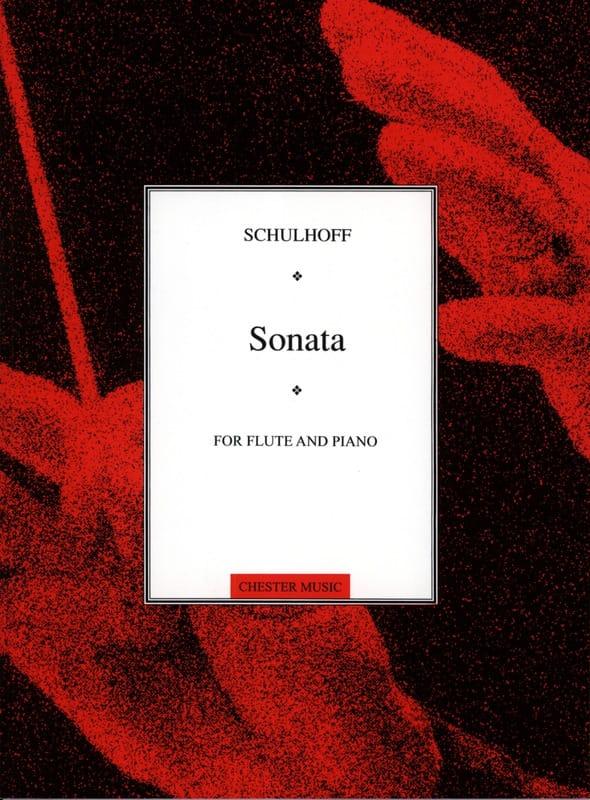 Flute Sonata - Erwin Schulhoff - Partition - laflutedepan.com