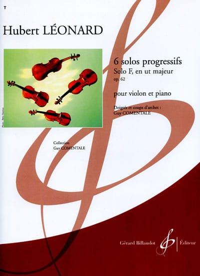 Solo F en ut majeur op. 62 - Hubert Léonard - laflutedepan.com