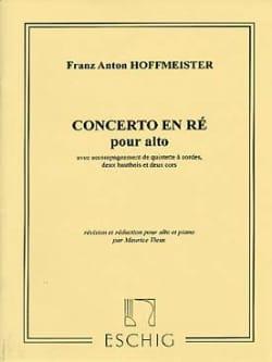 Concerto pour Alto HOFFMEISTER Partition Alto - laflutedepan