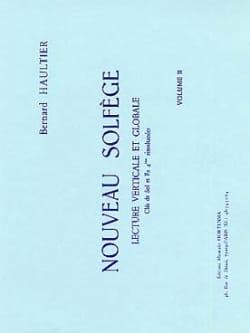 Nouveau Solfège Volume 2 Bernard Haultier Partition laflutedepan