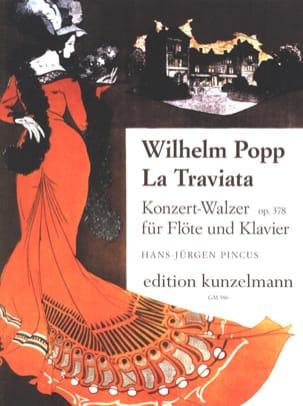 La Traviata op. 378 - Flöte Klavier - Wilhelm Popp - laflutedepan.com