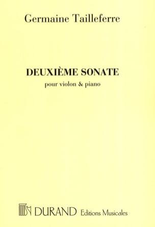 Sonate n° 2 Germaine Tailleferre Partition Violon - laflutedepan