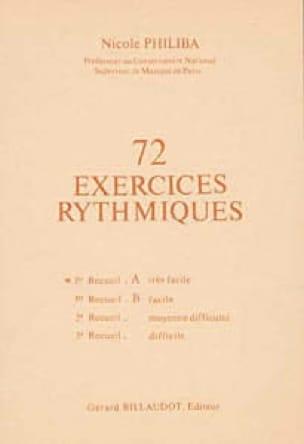 72 Exercices rythmiques - Volume 1A - laflutedepan.com