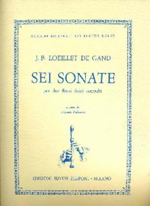 Sei Sonate - 2 Fl. A Bec - laflutedepan.com