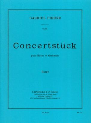 Concertstück Opus 39 - PIERNE - Partition - Harpe - laflutedepan.com
