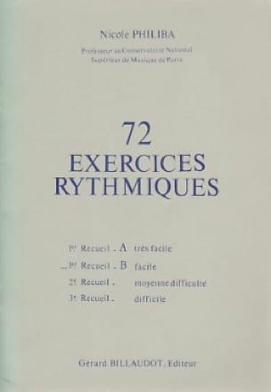 72 Exercices rythmiques - Volume 1B - laflutedepan.com