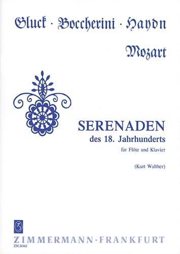 Serenaden des 18. Jahrhunderts - Flöte Klavier - laflutedepan.com