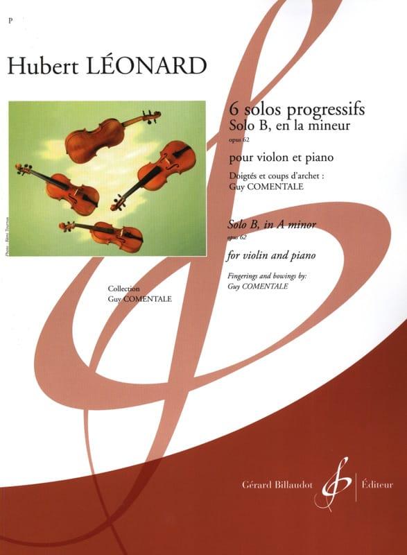 Solo B en la mineur op. 62 - Hubert Léonard - laflutedepan.com