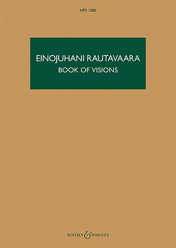 Book of Visions - Einojuhani Rautavaara - Partition - laflutedepan.com