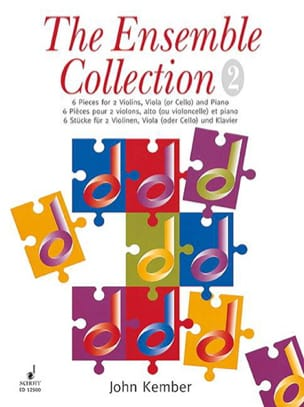 Ensemble Collection 2 - String piano quartet John Kember laflutedepan