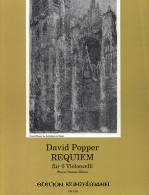 Requiem für 6 Violoncelli David Popper Partition laflutedepan