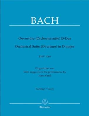 Ouvertüre Orchestersuite D-dur BWV 1068 - BACH - laflutedepan.com