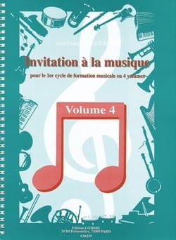 Invitation A la Musique - Volume 4 laflutedepan