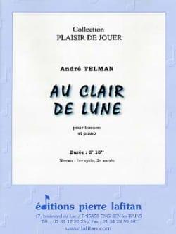Au Clair de Lune André Telman Partition Basson - laflutedepan