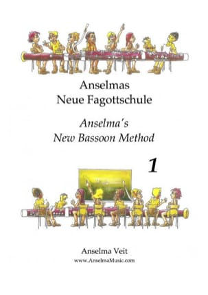 Anselmas Neue Fagottschule - Veit Anselma - laflutedepan.com