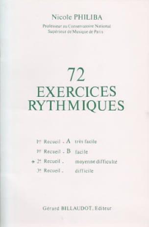 72 Exercices rythmiques - Volume 2 - laflutedepan.com