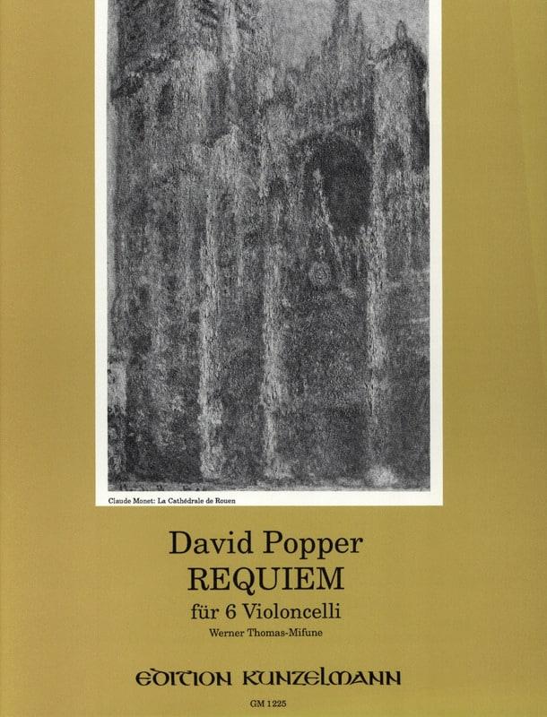 Requiem für 6 Violoncelli - David Popper - laflutedepan.com
