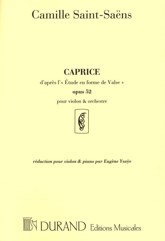Caprice d'après l'Etude en forme de Valse op. 52 - laflutedepan.com
