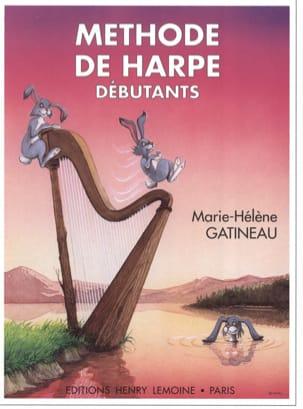 Méthode de harpe débutants : Volume 1 laflutedepan