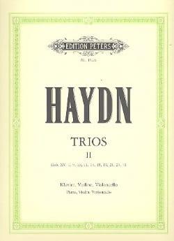 Klaviertrios - Bd. 2 -Stimmen - HAYDN - Partition - laflutedepan.com