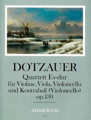 Quartett Es-Dur op. 130 -Partitur + Stimmen - laflutedepan.com