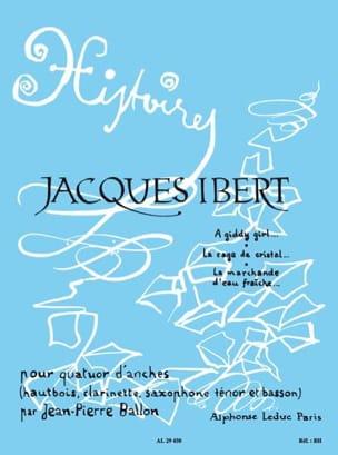 Histoires - Volume 1 -Quatuor d'anches - Cond. + parties laflutedepan
