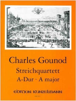 Quatuor A Cordes En la Maj. GOUNOD Partition Quatuors - laflutedepan